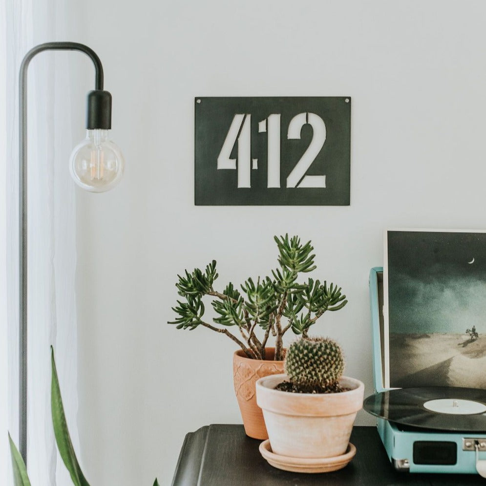 Pittsburgh, PA Area Code 412 Wall Decor