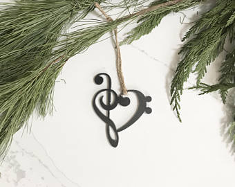 Music Note Ornament