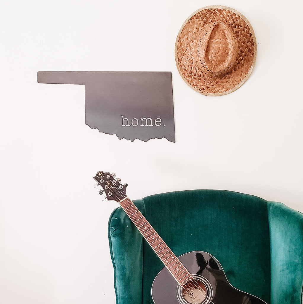 Oklahoma Home. Wall Decor