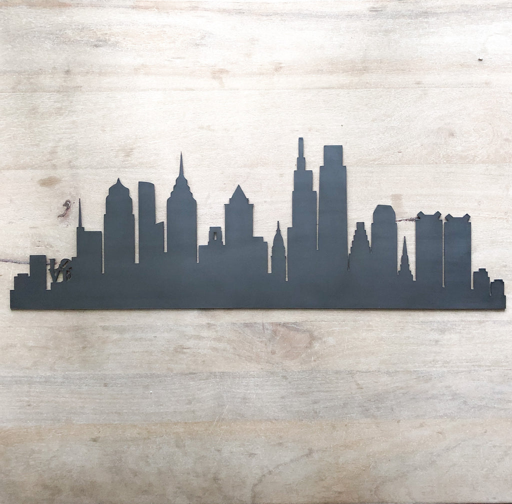 Philadelphia Pennsylvania City Skyline
