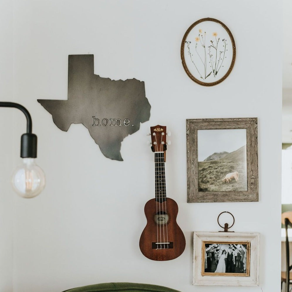 Texas Home. Wall Decor