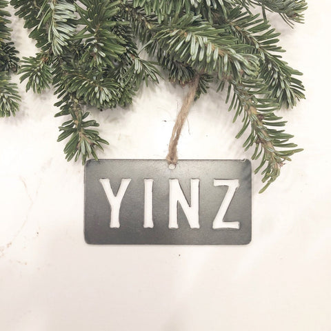Pittsburgh YINZ Ornament