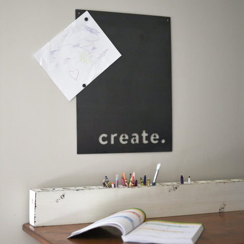 Create. Magnetic Board Wall Decor