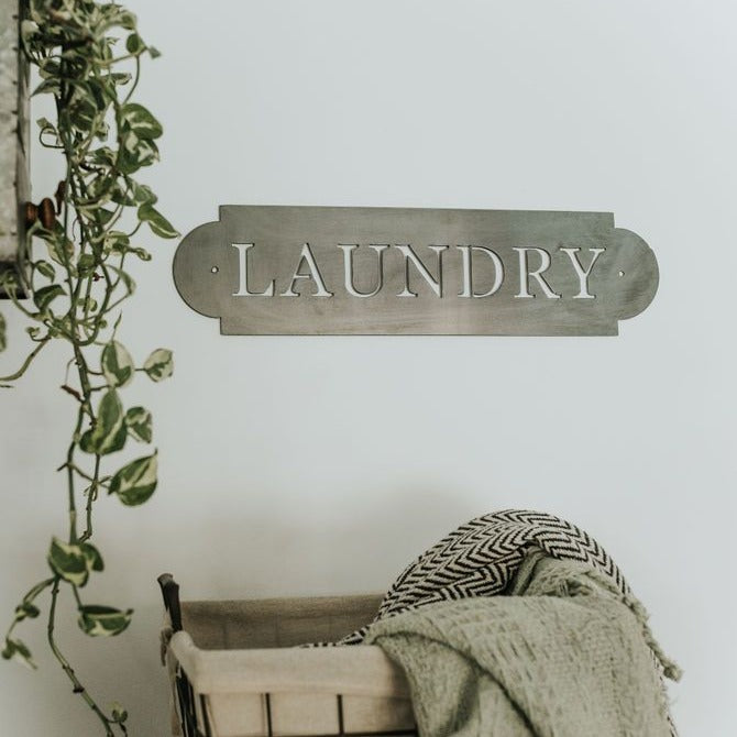 Laundry Wall Decor