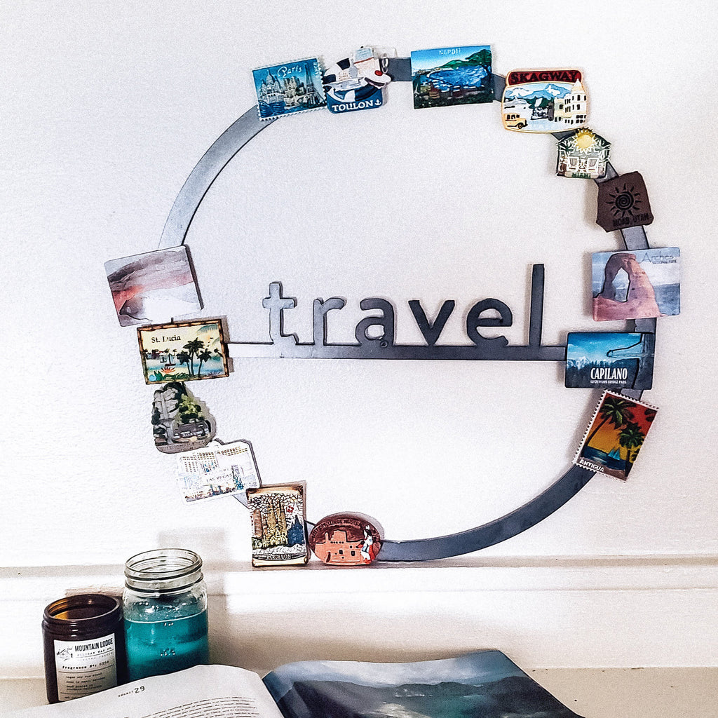 Travel Circle Wall Decor