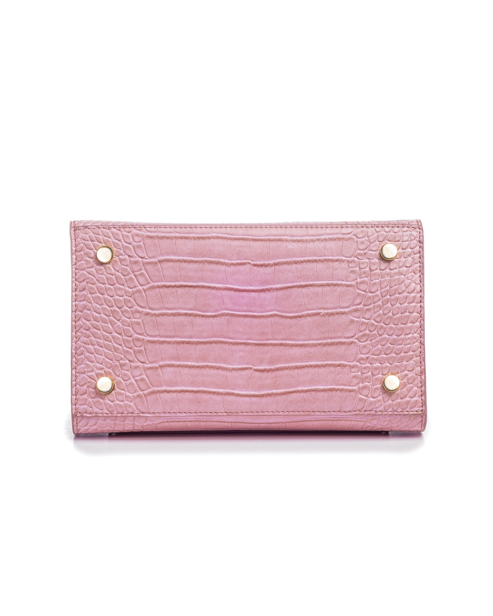 LIMITED EDITION PINK FAUX CROCODILE LUNCHER - ModernPicnic.com