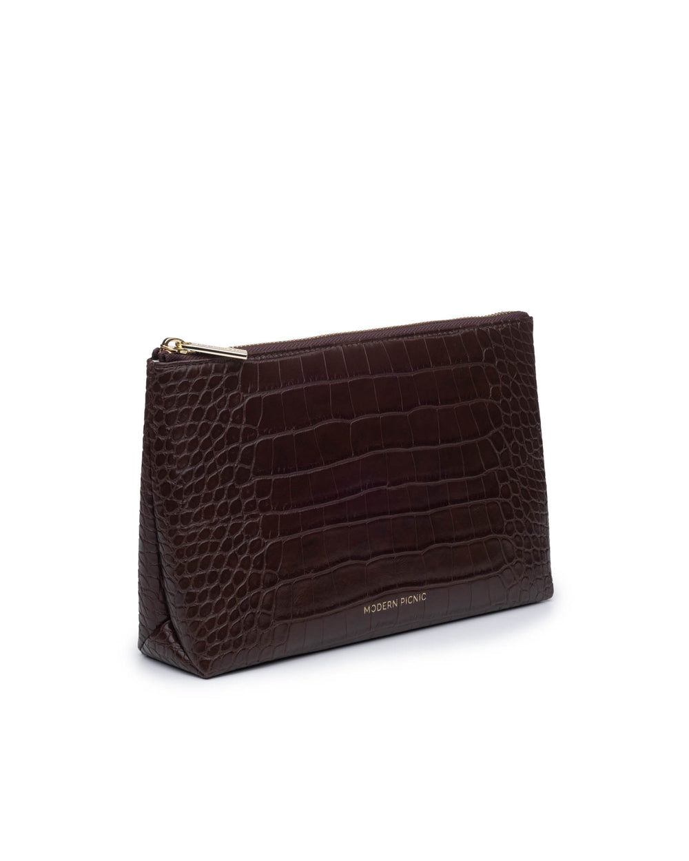 color:Dark Brown Crocodile