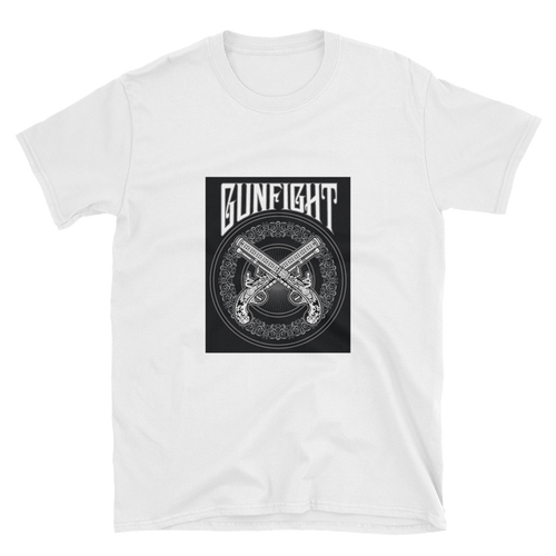 GunFight Logo T-Shirt (White)