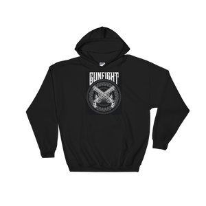 GunFight Logo Hooded Sweatshirt (Black)