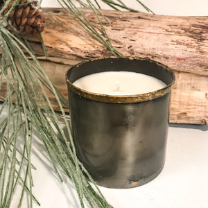 Rustic Tin Soy Candle - 10 oz