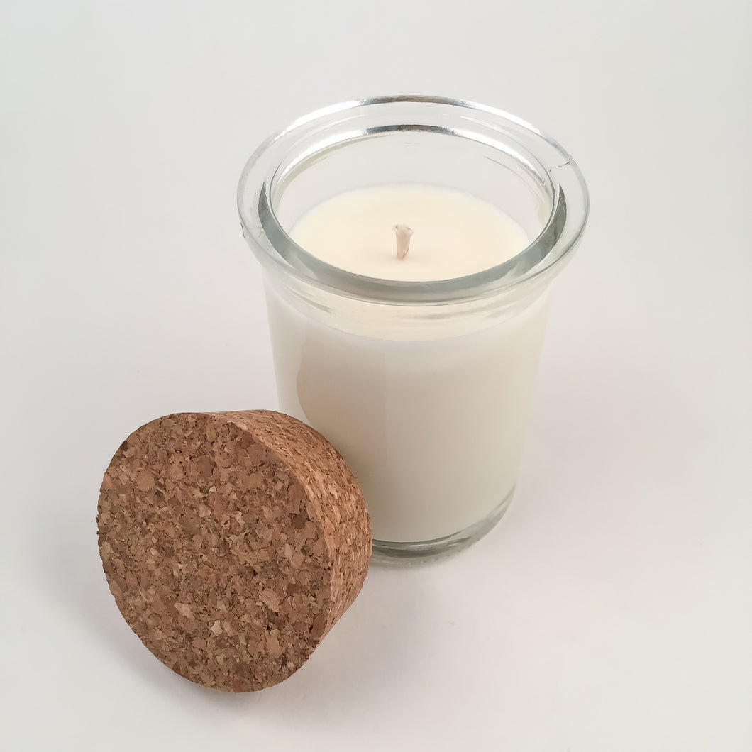 Recycled Glass Soy Candle - 6oz - Wholesale