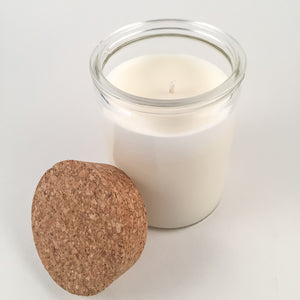 Recycled Glass Soy Candle - 12oz