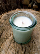 Spanish Glass Soy Candle - 4oz Square - Wholesale