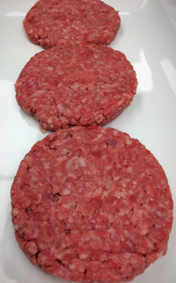 Local Grass-fed Burgers