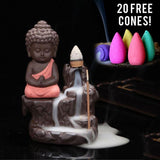 Buddha Incense Burner - 20 x Cones Included