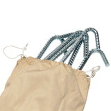Heavy Duty Ribbed Steel Tent Peg Set
