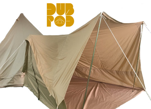 DubPod ™ - Bell_tent_Connector_Awning