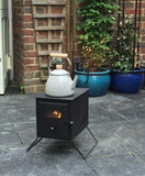Outbacker® 'Firebox'_Tent_Stove_&_Water_Heater_Package