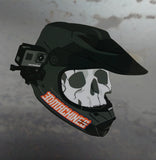 3DMachines Skull Helmet Decal - 3DMachines