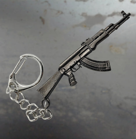 Machine Gun Key Chain - 3DMachines