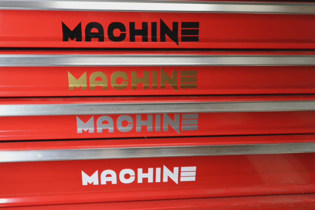 MACHINE Decal