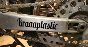 Braaptastic Decal