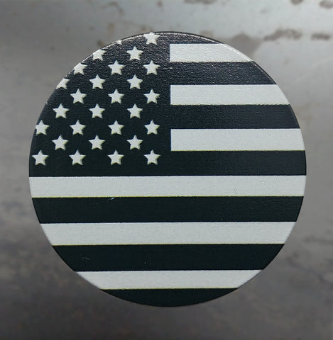 Black & White American Flag Phone Grip - 3DMachines
