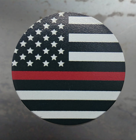 Red Line American Flag Phone Grip - 3DMachines