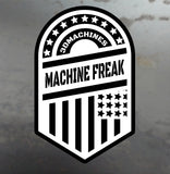 Machine Freak Large Decal - 3DMachines