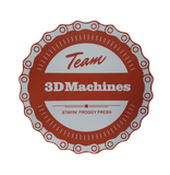Team 3DMachines Decal - 3DMachines