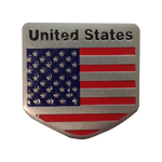 American Flag Badge Emblem - 3DMachines