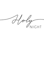Silent Night Holy Night Split Print