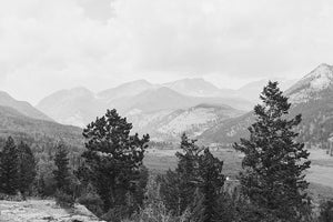 Rocky Mountain Black and White