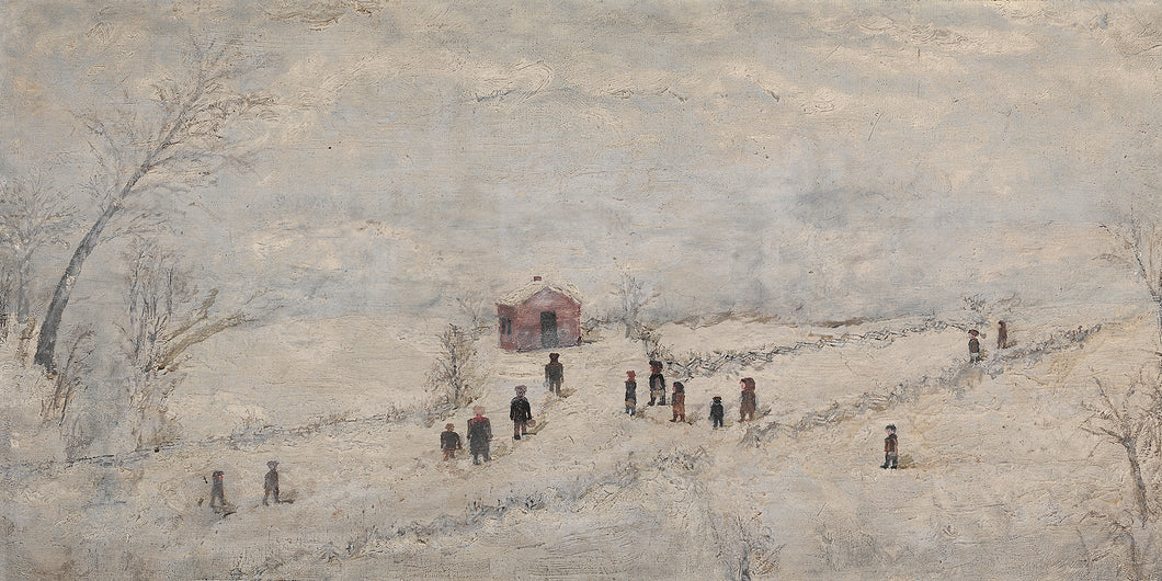 School in the Snow