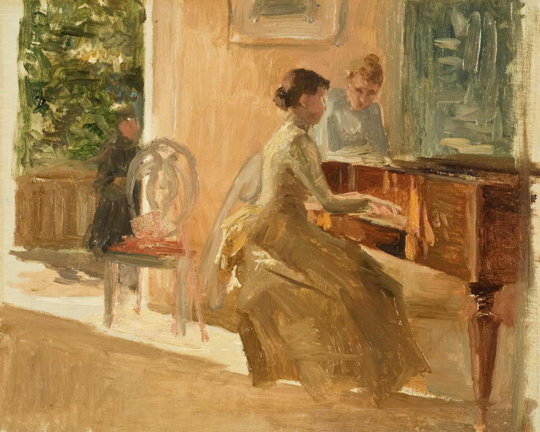 Women Playing Piano