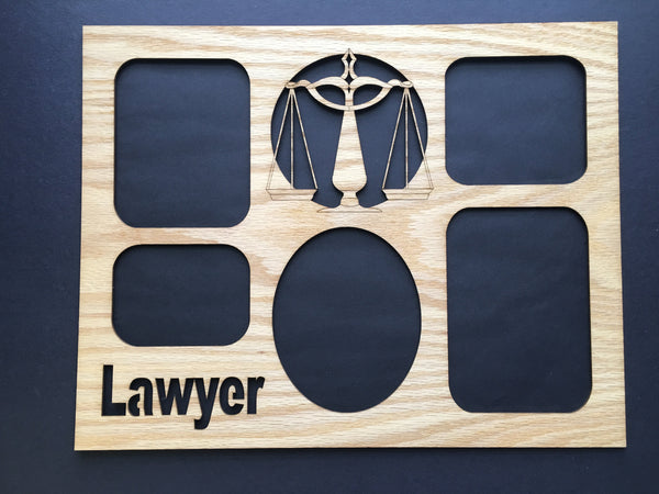 DISCONTINUED 11x14 Lawyer Picture Frame - Matte Only-Legacy Images