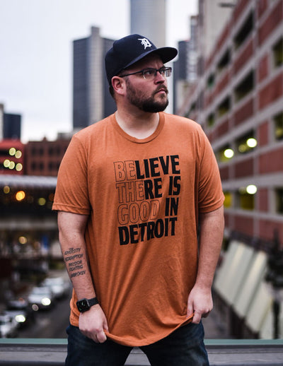 Believe There is Good in Detroit Tee