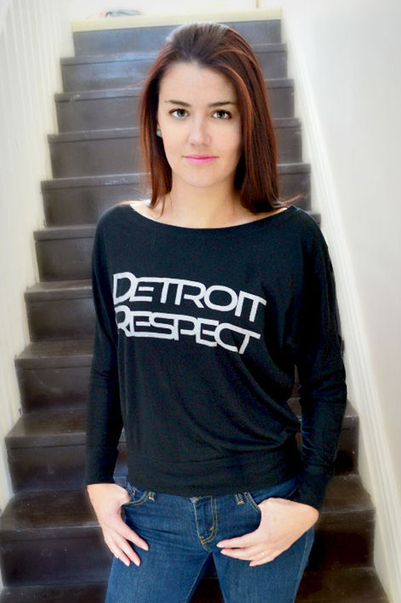 Detroit Respect Flowy Long Sleeve