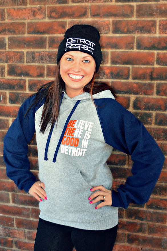 Be The Good Color Block Hoodie
