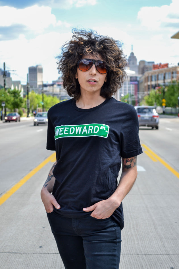 The Detrroit Respect Weedward tee