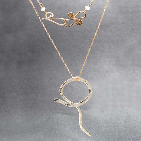 Necklace 205 - RoseGold