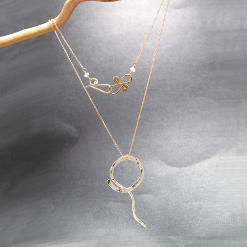 Necklace 205 - Silver