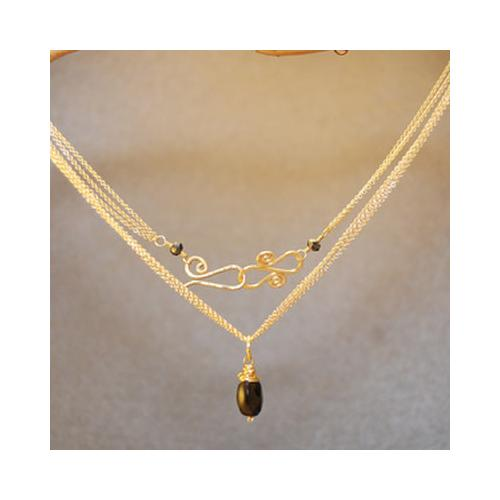 Necklace 278 - Gold