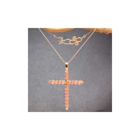 Necklace 303 - choice of stone - RoseGold