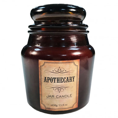 Lavender and Lemongrass Apothecary Candle Jar
