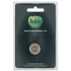 The Beatles 'Sgt Pepper' Miniature Enamel Pin Badge