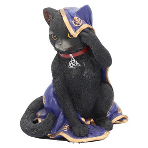 Black Cat Altar Cloth Figurine