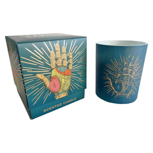 Fragranced Palmistry Candle and Gift Box