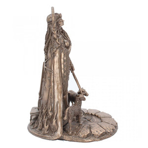 Celtic Goddess Brigid Figurine