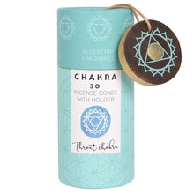 Blueberry Throat Chakra Incense Cone Gift Pack